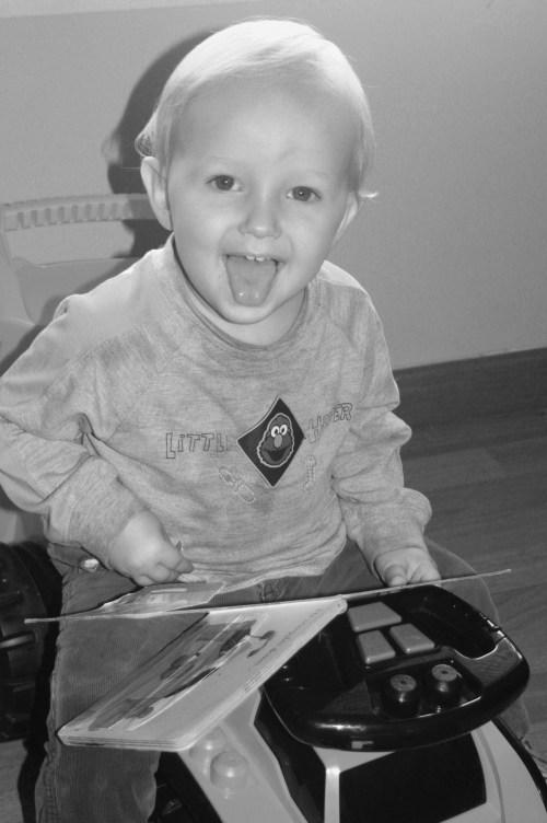 Baby reading 003