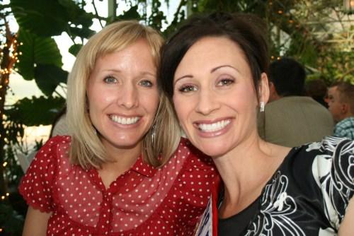 Emily Nelson, Mrs. Utah 2008 and me